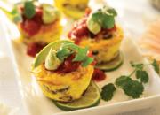 Huevos Rancheros Egg Cakes