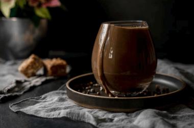 Fudgy Chocolate Milkshake