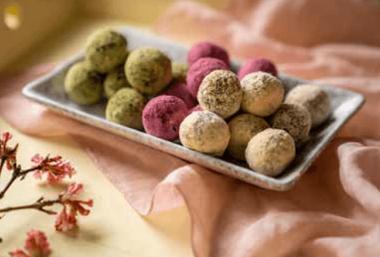 Dark Chocolate Mushroom Bliss Balls