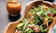 Quinoa Trout Salad with Spicy Mango Dressing