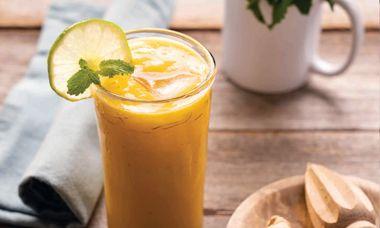 Cantaloupe Ginger Cooler