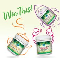 Enter to WIN a Whole Earth & Sea Power-Up Mixers Prize Pack!