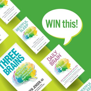 Win a Cognitive Health Prize Pack From Three Brains!