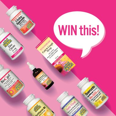 Win a Fall Wellness Prize Pack From Natural Factors!