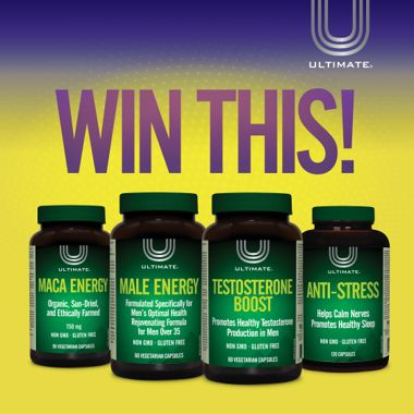 Win a Men's Ultimate Male Solutions Prize Pack!