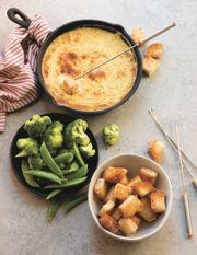 Gooey Cheese Fondue