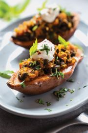 Indian Spiced Yam Jackets