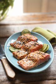 Sesame Seed Crusted Salmon
