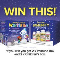 Enter to Win Natural Factors' Winter Immunity Kits!