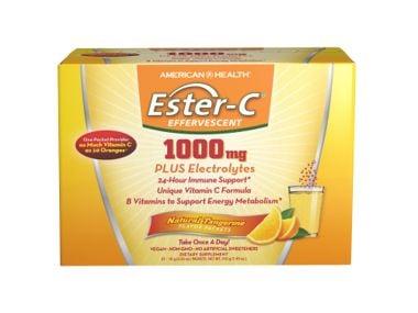 WIN 1 OF 5 ESTER-C® EFFERVESCENT NATURAL TANGERINE!
