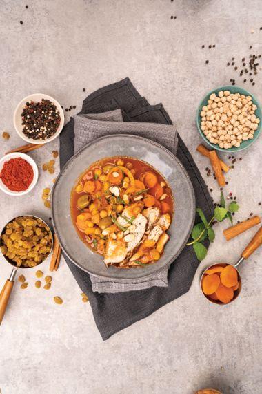 Warming Moroccan Turkey Stew