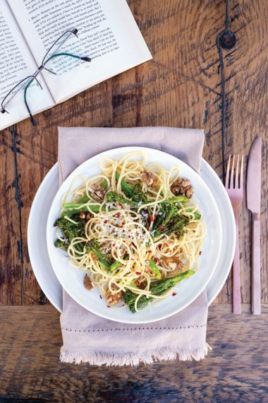 Lemony Broccoli Pasta with Browned Butter