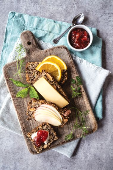 Nuts About Seed and Citrus Bread