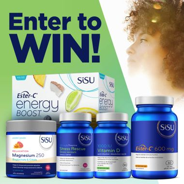 Win a Holiday Health Prize Pack From Sisu!