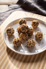 Tahini Miso Power Balls