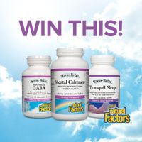 Win a Stress Relief Pack From Natural Factors!