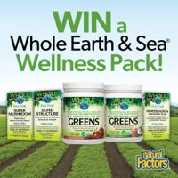 Win a Whole Earth & Sea Wellness Pack!