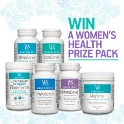 Win a Fantastic WomenSense Prize Pack!