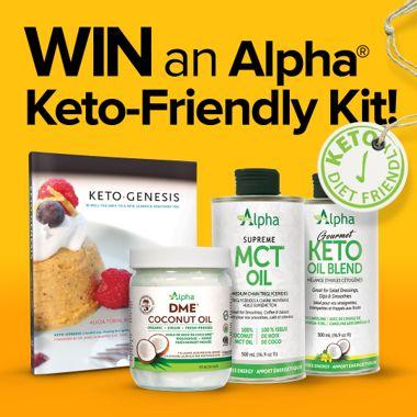 Win an Alpha Keto Friendly Kit!