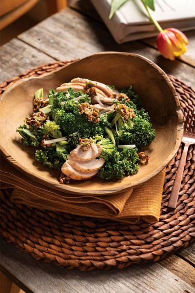 Grilled Chicken Broccoli Caesar