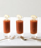 Chilled Spicy Crab Shooters