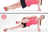 Side Plank Knee Drive