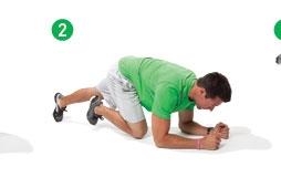 Plank Kickouts