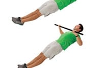 Inverted pull-ups