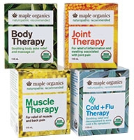 Maple Organics body products