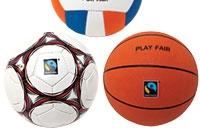Social Conscience fair trade sports balls