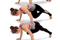 Cross-body Mountain Climbers