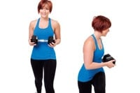 Stationary Lunge with Twist