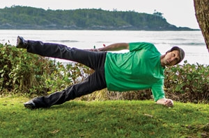 Side Plank with Abduction