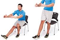 Single-leg High Squat