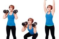 Squat and Shoulder Press