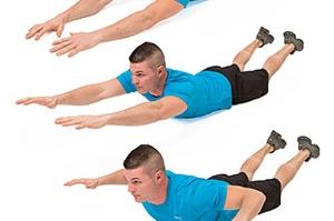 Superman Low Back Extension