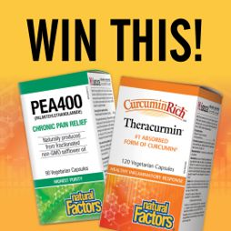 Win an Inflammation and Joint Pain Support Prize Pack!