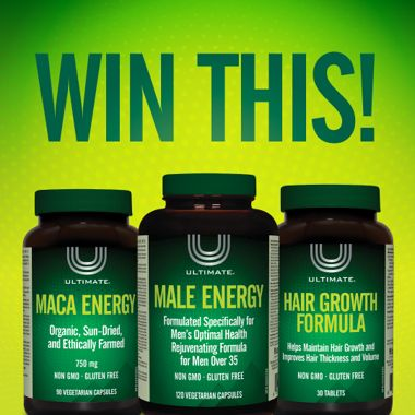 Win an Ultimate® male prize pack!