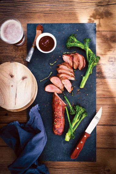 Pork Tenderloin with Espresso BBQ Sauce