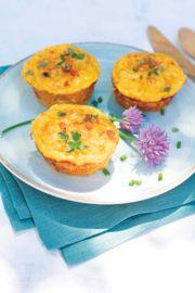 Sweet Potato Mini Egg Cakes
