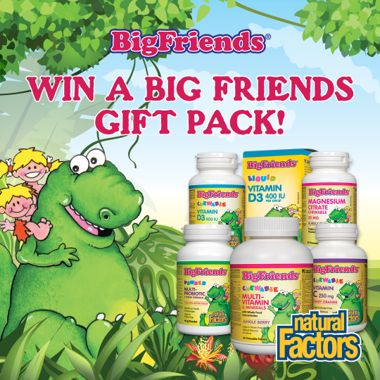 Win an Amazing Big Friends Gift Pack with Backpack!