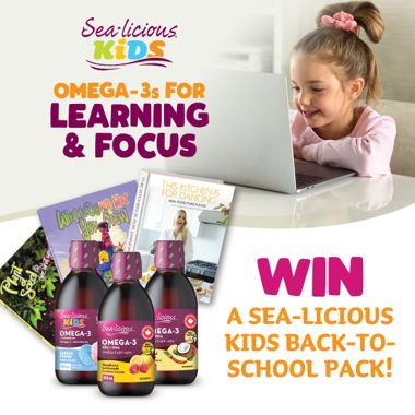 Win a Sea-licious Kids Back-to-School Pack!