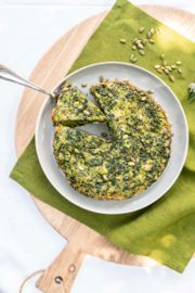 Herb and Greens Frittata