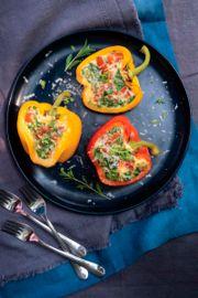 Omelette Stuffed Peppers