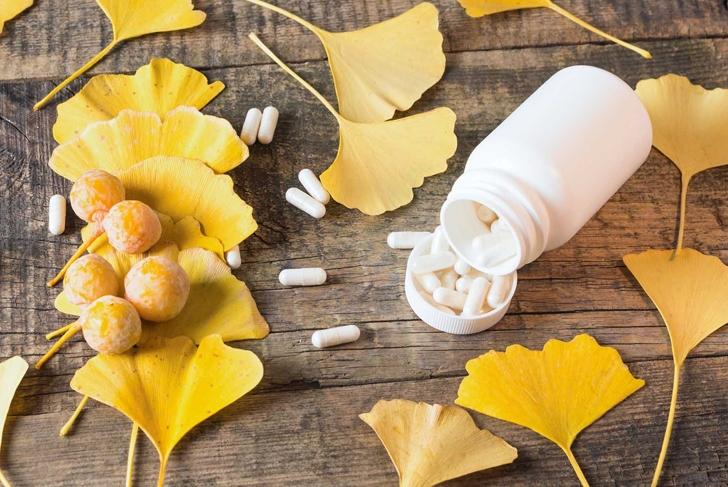 Chinese natural supplements for brain - Ginkgo biloba