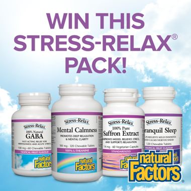 Win a Stress-Relax® Relief Pack!