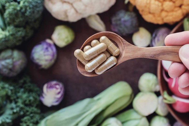 cruciferous vegetables capsules, keto diet dietary supplements for healthy