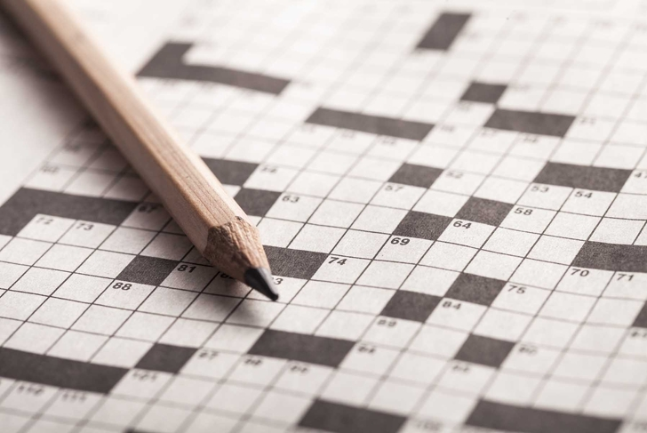 Crossword, puzzle, clever.